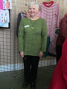 Pullover-Green